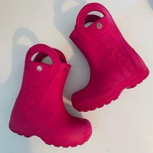 CROCS Rainboots